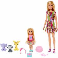 """Barbie und Chelsea """"Dschungelabenteuer"""" Barbie und ihre Schwestern NEU OVP"""