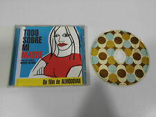 TODO SOBRE MI MADRE SOUNDTRACK OST BSO CD 1999 EL DESEO SPANISH EDITION