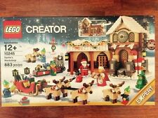 Lego Workshop Creator 10245 Winter Holiday Santa Christmas 2014 Set New