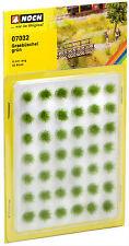 * Noch Scala N 07032 Confezione cespugli ciuffi verdi 42 pezzi nuovo OVP
