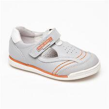 Sandales en cuir gris orange blanc Pablosky- T. 30
