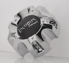 INCUBUS WX03 135/139.7-5H LG0903-26 CHROME CENTER CAP (WX03C & DECAL-INC)
