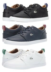 Lacoste Brand Bayliss 119 Men's Fashion Casual Shoes Sneakers Black Navy White