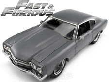 Fast & Furious - Dom's 1970 Chevy Chevelle SS 454 1:24 Scale Diecast Model