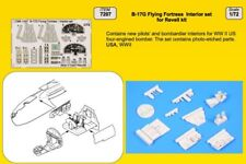 CMK 1/72 B-17G Flying Fortress Interior Set for Revell # 7207