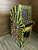 New Yellow Cabaret Arcade Machine, Upgraded!
