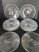 Shannon Crystal Designs of Ireland New with Tag Set of 8 Salad Plates