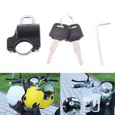 Motorcycle Universal Helmet Lock Handlebar 22-26mm Anti-theft Security MotorbBOD