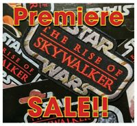 "On SALE!!! STAR WARS ""The RISE of SKYWALKER"" Kenner Vintage style toy logo patch"