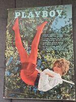 Vintage Playboy Magazine July 1968 With Centerfold