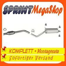 RENAULT MEGANE I 1.6 79 KW 1997-2002 COUPE CABRIOLET Auspuff Auspuffanlage 0144