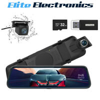 """Thieye CarView 2 Mirror Dash Cam 1080P 32GB 10"""" IPS Touch Screen DVR Camera"""