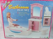Barbie Size Dollhouse Furniture bathroom NEW
