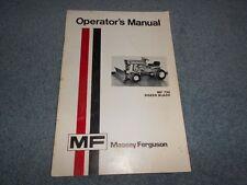 1973 Massey Ferguson Dozer Blade Mf 730 Operator's Manual Original : Used