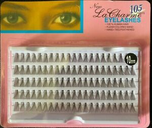 LA CHARME FLARE SHORT INDIVIDUAL LASHES 10 MM ( 5 ROWS ) **BRAND NEW**