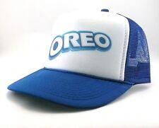 Oreo cookies Trucker Hat mesh hat snapback hat royal blue new adjustable