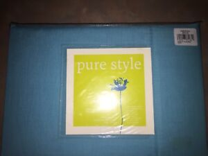 Brand new Aqua king single bed sheet set - pure style 225 thread count
