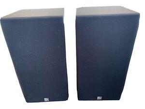 KEF C55 Pair of Bookshelf Speakers w/Consecutive Serial #s