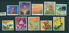 #2986-Japan- 10 recent issues-Used-Complete Set