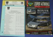 Revue technique l'expert automobile no RTA 375 Rover série 200 1996->