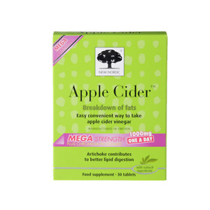 New Nordic Apple Cider Mega Strength 1000mg One-a-Day 30 caps