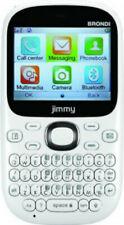 Smartphone BRONDI JIMMY Bianco dual SIM clavier QWERTY langue English / Italian