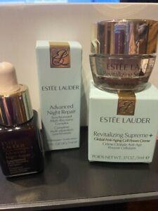 Estee Lauder Adv Night Repair .23 oz + Revital Supreme Global Anti-Aging 0.17 oz