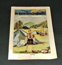 """,,Der kleine Genossenschaftler"""" Kinderzeitschrift 1936 mit Bildergeschichten usw"""