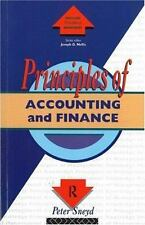 Principles of Accounting and Finance (Routledge Series in the Principl-ExLibrary