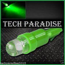 100x Ampoule T5 W1.2W W2X4.6D ( B8.3D / B8.5D ) LED Bulb Vert Green Neo Wedge