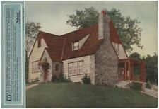 1920s Weatherbest Stained Shingles Illustrated House Handbill
