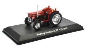 Massey Ferguson MF135 1965 in red 1:43 scale diecast model tractor
