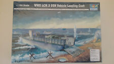 1/144 scale  Trumpeter Models  WWII American LCM 3 USN Vehicle Landing Craft