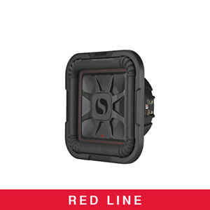 "Kicker Audio L7T 10"" Thin Profile Square Dual Voice Coil Subwoofer - 2-Ohm"