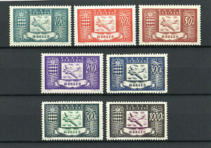 MONACO - 1946 - AIR STAMPS - COMPLETE SET - SUPERB MINT NOT HINGED - CAT.£325.00