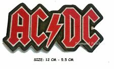ACDC Iron on Patch Rock Music Band Patch Embroidered Sew on Jacket New