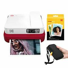 KODAK Smile Classic Digital Instant Camera with Bluetooth (Red) Starter Kit