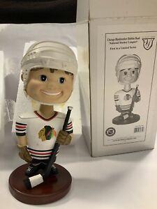 Vintage Chicago Blackhawks NHL Hockey Bobble Head Memory Company 1st In A Series