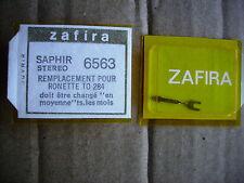 Cellule saphir zafira platine vinyl 6563 ronette td 284