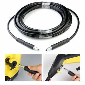 15M High Pressure Washer Extension Hose Water Clean Pipe Karcher K2 K3 K4 K5 K7