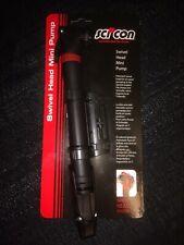 Scicon Swivel Head Mini Pump Black