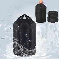 Waterproof Compression Stuff Sack Dry Sleeping Bag Rafting Camping Hiking Bags