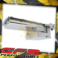 Steel Chevy Gm Ls Engines Oil Pan 7 Qt Filter Adapter - Chrome