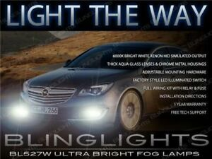 2014 2015 2016 Opel Insignia Driving Light Fog Lamp Kit berlina hatchback