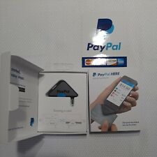 Paypal Here Mobile Card Reader Phone Credit Debit Charge Payment Connect Swipe