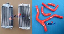 FOR Honda CRF450R CRF450 CRF 450 R 2015 2016 16 15 aluminum radiator + Red hose