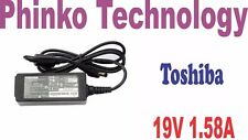 NEW Original Adapter Charger Toshiba MINI NB550 NB550D, 19V 1.58A