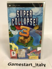 SUPER COLLAPSE 3 SONY PSP - VIDEOGIOCO NUOVO SIGILLATO NEW SEALED PAL VERSION