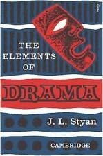 (Good)-The Elements of Drama (Paperback)-Styan, John L.-0521092019