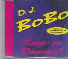 DJ Bobo-Keep On Dancing cd maxi single